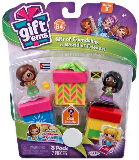 Gift 'Ems Series 3 Havana & Kingston Exclusive Mini Figure 3-Pack