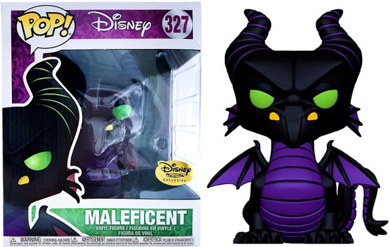 Funko POP! Disney Maleficent Dragon Exclusive Vinyl Figure #327 [Haunted Forest]