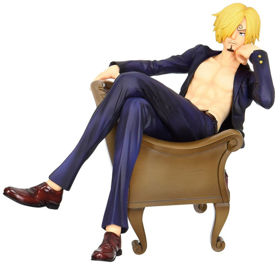 One Piece Portrait of Pirates S.O.C. Excellent Model Series Sanji 5.5-Inch PVC Statue