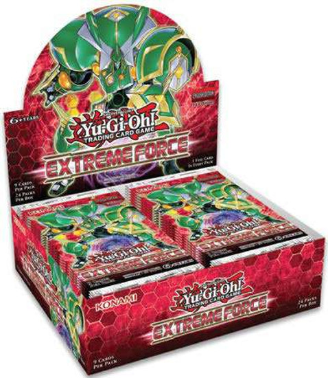 YuGiOh Trading Card Game Extreme Force Booster Box [24 Packs]
