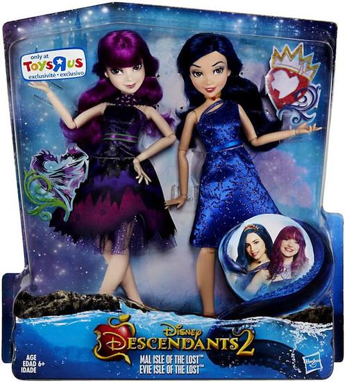Disney Descendants Descendants 2 Mal & Evie Exclusive Doll 2-Pack