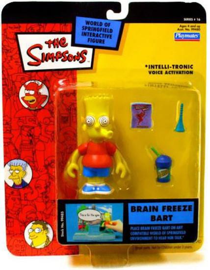 The Simpsons Series 16 Bart Simpson Action Figure [Brain Freeze]