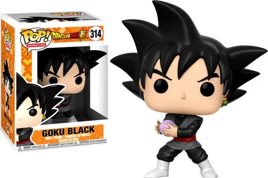 Funko Dragon Ball Super POP! Animation Goku Black Vinyl Figure #314