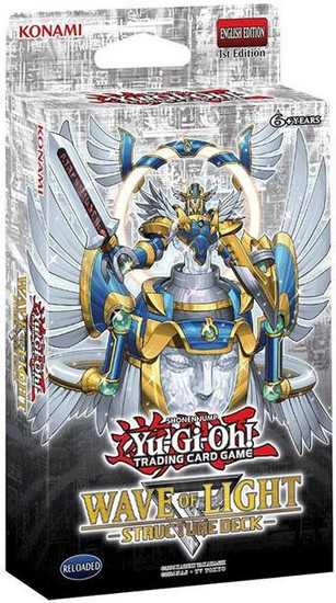 YuGiOh Trading Card Game Wave of Light Structure Deck