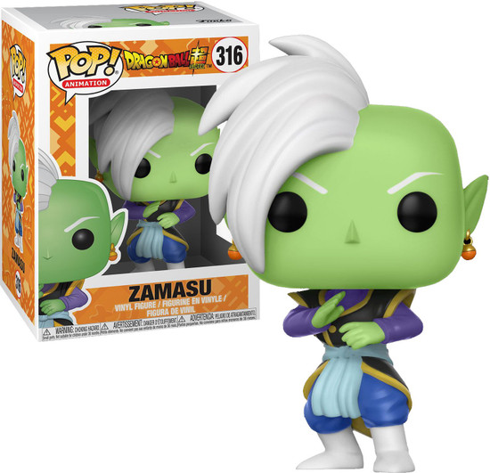 Funko Dragon Ball Super POP! Animation Zamasu Vinyl Figure #316
