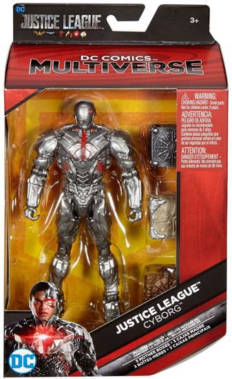 DC Justice League Movie Multiverse Cyborg Action Figure