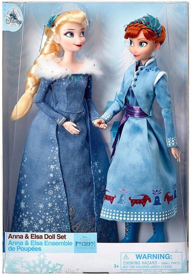 Disney Frozen Anna & Elsa Exclusive 11.5-Inch Doll Set 2-Pack [Olaf's Frozen Adventure]