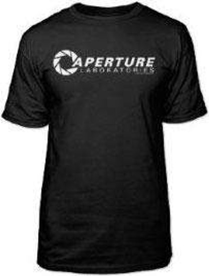 Portal 2 Aperture Laboratories Logo T-Shirt [X-Large]