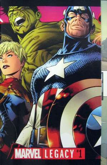 Marvel Comics Marvel Legacy #1 Comic Book [Joe Quesada Wraparound Gatefold Cover]