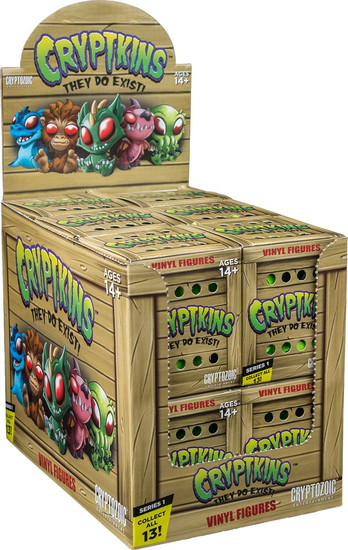 Cryptkins Series 1 Mystery Box [12 Packs]