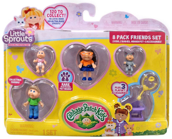 Cabbage Patch Kids Little Sprouts Quinn Sophia Mini Figure 8-Pack