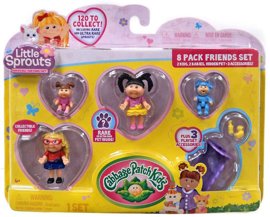 Cabbage Patch Kids Little Sprouts Olive Jullet Mini Figure 8-Pack
