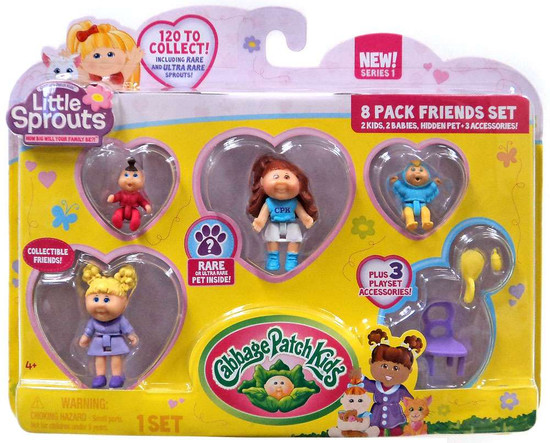 Cabbage Patch Kids Little Sprouts Eden Raine Mini Figure 8-Pack