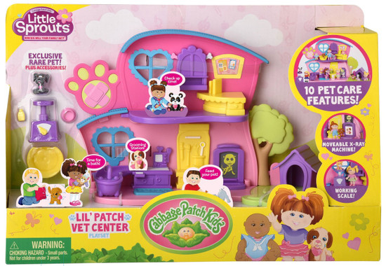 Cabbage Patch Kids Little Sprouts Lil' Patch Vet Center Playset