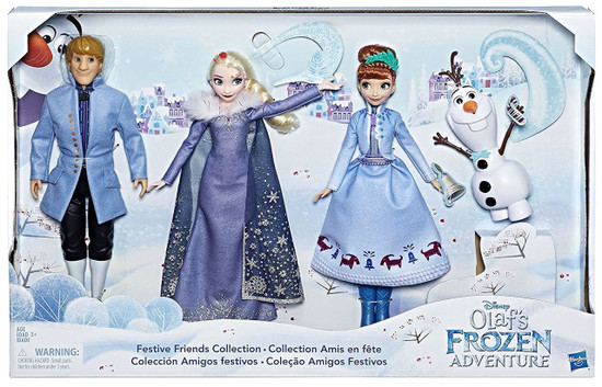 Disney Frozen Festive Friends Collection 11-Inch Doll 3-Pack