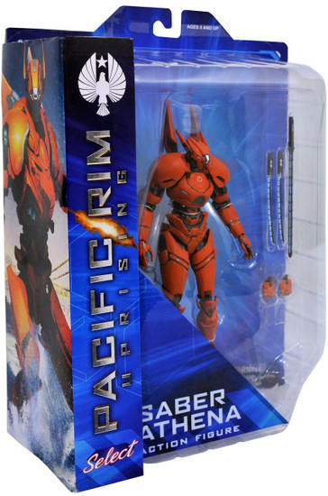Pacific Rim: Uprising Series 1 Saber Athena Action Figure [Deluxe]