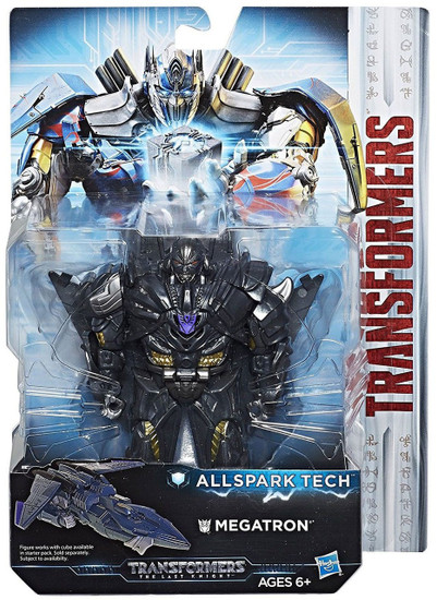 Transformers The Last Knight All Spark Tech Megatron Action Figure