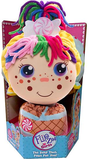 FlipZee! Girls Zandy Candy Plush Doll