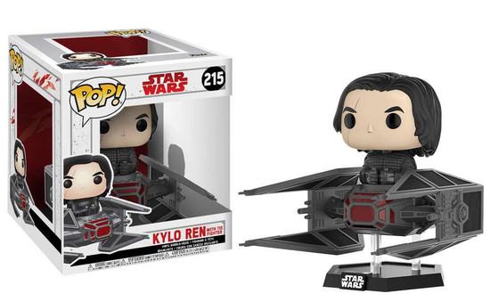 Funko The Last Jedi POP! Star Wars Kylo Ren with TIE Fighter Vinyl Bobble Head #215