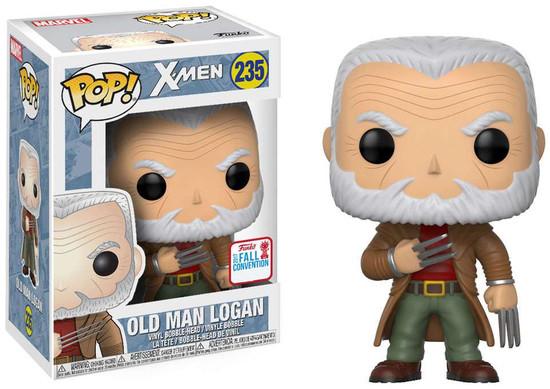 Funko X-Men POP! Marvel Old Man Logan Exclusive Vinyl Bobble Head #235