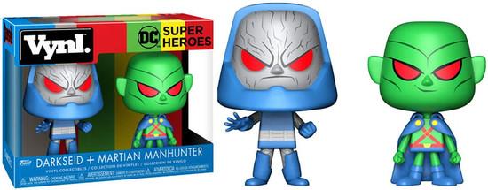 Funko DC Super Heroes Vynl. Martian Manhunter & Darkseid Vinyl Figure 2-Pack