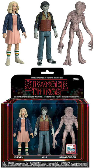 Funko Stranger Things Eleven, Will & Demogorgon Exclusive Action Figure 3-Pack