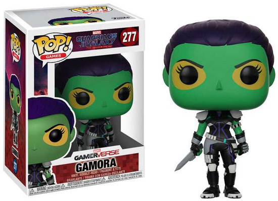 Funko Marvel Gamerverse Guardians of the Galaxy: The Telltale Series POP! Games Gamora Vinyl Figure