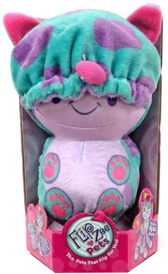 FlipZee! Pets Stripey Kitty Plush Doll