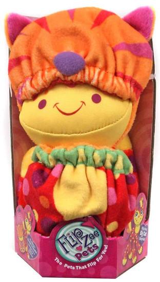 FlipZee! Pets Red & Orange Cat Plush Doll