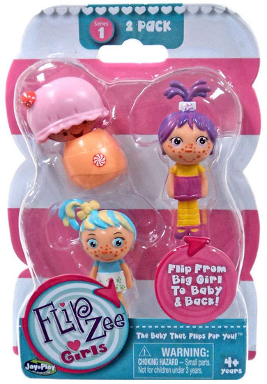 FlipZee! FlipZee Girls! Series 1 Mini Figure 2-Pack [Style 4]