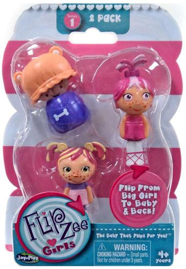FlipZee! FlipZee Girls! Series 1 Mini Figure 2-Pack [Style 5]