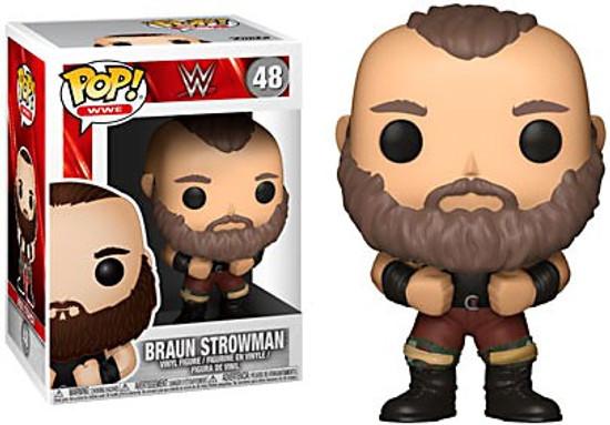 Funko WWE Wrestling POP! Sports Braun Strowman Vinyl Figure #48