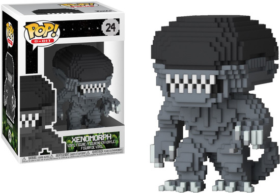 Funko POP! 8-Bit Alien Vinyl Figure #24