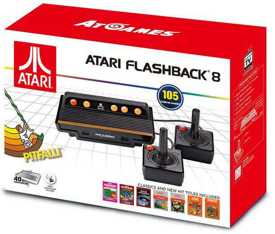 Atari Flashback 8 Classic Video Game Console [105 Games]