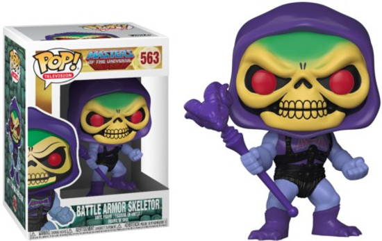 Funko Masters of the Universe Battle Armor Skeletor Vinyl Figure #563