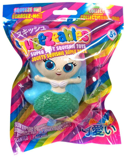 Squeezeables Series 1 Mermaid Squeeze Toy
