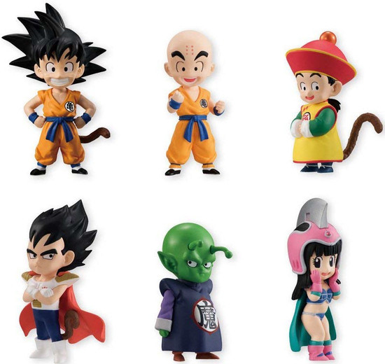 Dragon Ball Z Adverge EX Dragon Children Vol. 1 2-Inch Box of 10 Mini Figures [10 Packs]