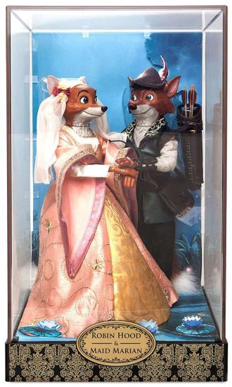 Disney Fairytale Designer Collection Robin Hood & Maid Marian Exclusive 11.5-Inch Doll Set