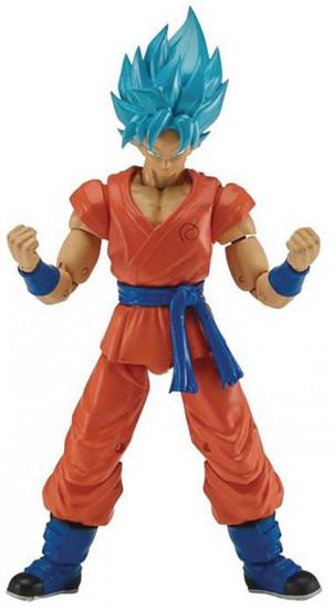 Dragon Ball Super Dragon Stars Series 3 Super Saiyan Blue Son Goku Action Figure [Fusion Zamasu Build-a-Figure]