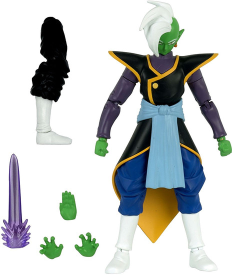 Dragon Ball Super Dragon Stars Series 4 Zamasu Action Figure [Fusion Zamasu Build-a-Figure]
