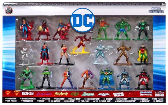 Nano Metalfigs DC Comics 1.5-Inch Diecast Figure 20-Pack [Version 1]