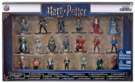 Nano Metalfigs Harry Potter 1.5-Inch Diecast Figure 20-Pack [Version 1]