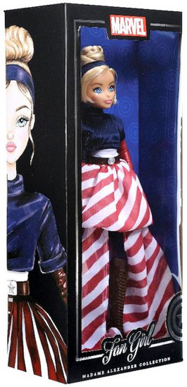 Marvel Fan Girl Madame Alexander Collection Captain America Doll