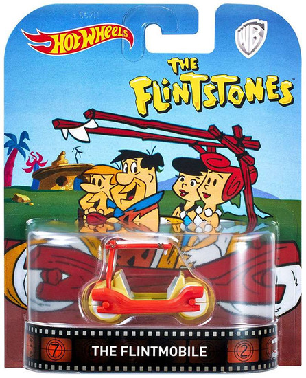 Hot Wheels The Flintstones The Flintmobile Diecast Car