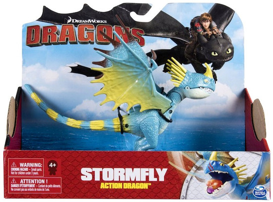 How to Train Your Dragon Dragons Action Dragon Stormfly Action Figure [Light Up Flame Attack!]