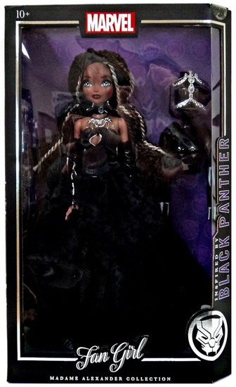 Marvel Fan Girl Madame Alexander Collection Black Panther Doll