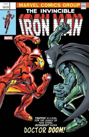 Marvel Comics The Invincible Iron Man #593 Comic Book [Lenticular Cover]