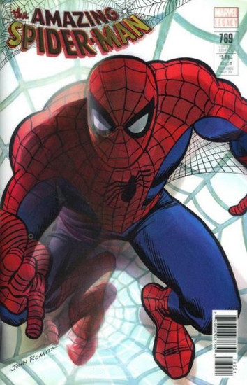 Marvel Comics The Amazing Spider-Man #789 Comic Book [Lenticular Cover]