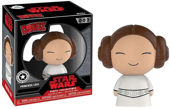 Funko Star Wars Dorbz Princess Leia Exclusive Vinyl Figure #002 [Special Edition]