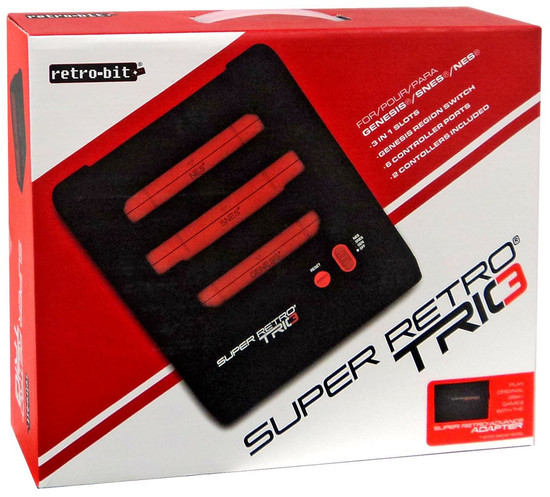 Retro-Bit NES, SNES & GENESIS Super Retro Trio